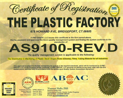 AS-9100 Certification