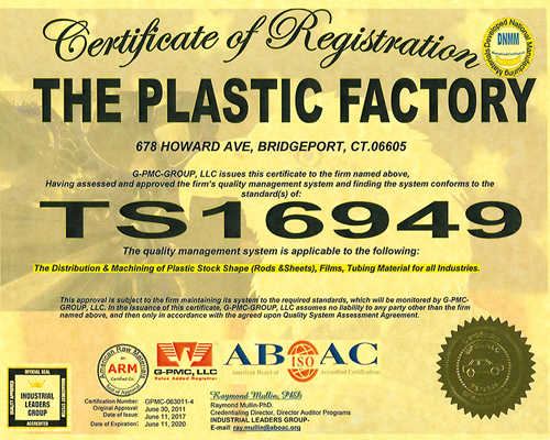ISO-TS Certification